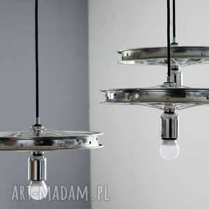 potrójna lampa wisząca triple, żyrandol, okrągły, pająk, industrialny
