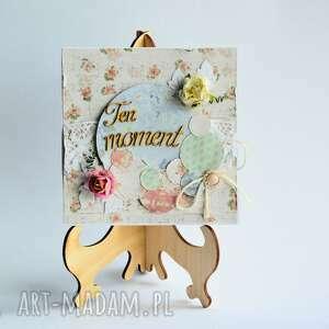 kartka - ten moment - kartka, zaręczyny, rocznica, kobieta, shabby, romantyczna