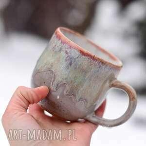 kubki kubek duży kamionkowy - sensual beżowy 420 ml ii 70,00 zł, ceramika