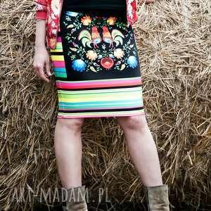Spódnica ołówkowa, spódnica, folk, etno