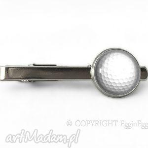 piłka golfowa - spinka do krawata sportowa, glofowa