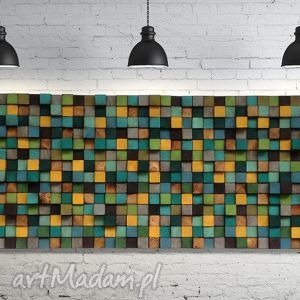 Mozaika drewniana NA ZAMÓWIENIE, mozaika, drewniana, obraz, płaskorzeźba, ściana