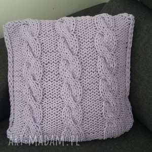 pomysł na święta prezent Dekoracyjne poduszki ze sznurka bawełnianego wykonane