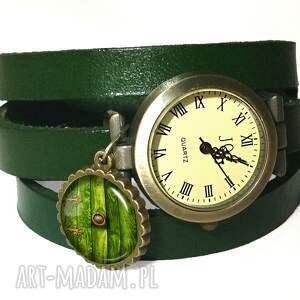 hobbit - zegarek bransoletka na skórzany pasku, hobbit, władca, pierścieni, drzwi