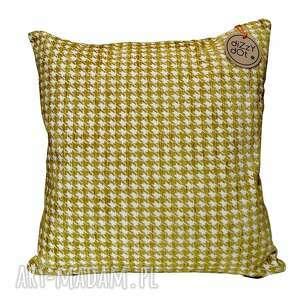 Poduszka dekoracyjna vintage złota poduszki dizzydot dekaracyjna