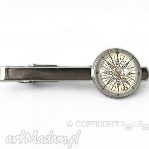 kompas - spinka do krawata, busola