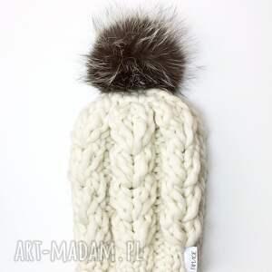 czapka peruvian wool, wełna, czapka, wełniana, ręcznie