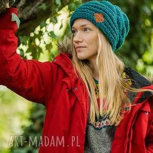 wyjątkowy prezent, this is it forest biome, czapka, zielona, nie obcisła