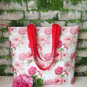 hand-made na ramię torebka damska duża wodoodporna shopper bag do ręki torba handmade
