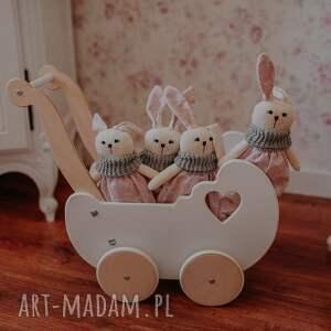 maskotka króliczek róża 35 cm, króliczek, maskotka, przytulanka, królik, zabawka
