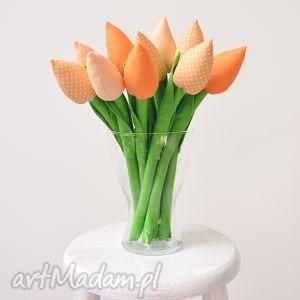 Tulipany, bukiet, tulipany-z-materiału, kwiaty, kwiatki, tulipany, tulipan