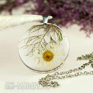 z1287 naszyjnik z prawdziwym kwiatem-5cm - naszyjnik-z-kwiatem