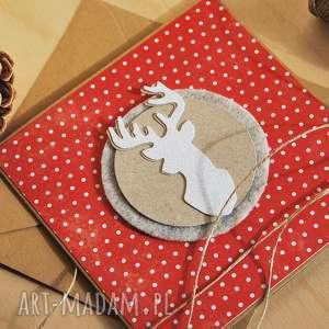 handmade prezent kartka świąteczna