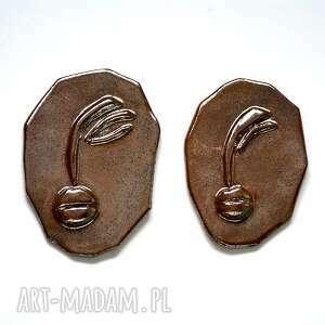 ceramika 2 twarze, twarz, głowa, ceramiczne, maska