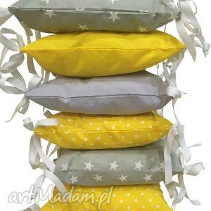 poduchowy ochraniacz lamado 6 częściowy - ochraniacz, szczebelki, poduszki