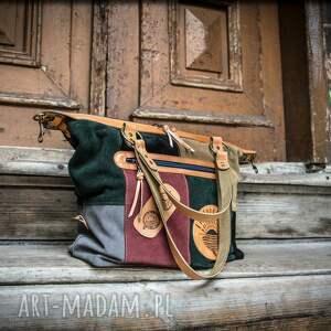 stylowa damska torebka od ladybuq, ręcznie wykonana letnia torba z weluru