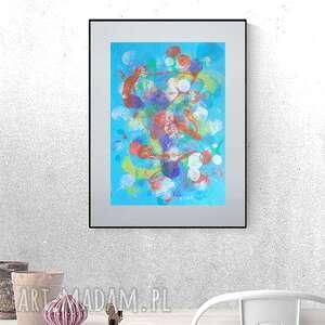 oryginalna abstrakcja do pokoju, nowoczesna dekoracja na ścianę, abstrakcyjna