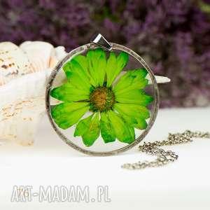 Naszyjnik z prawdziwym kwiatem z78, naszyjnik-z-kwiatów, herbarium-jewelry