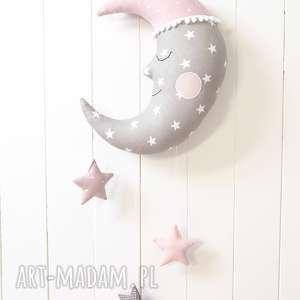 księżyc, dekoracja, mobil, karuzela, gwiazdki, gwiazdka