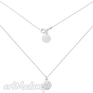 srebrny naszyjnik z muszelką, naszyjnik, srebro, blogerski, muszelka, modowy
