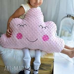 poduszka dziecięca chmurka z nogami, chmurka, minky, dekoracja