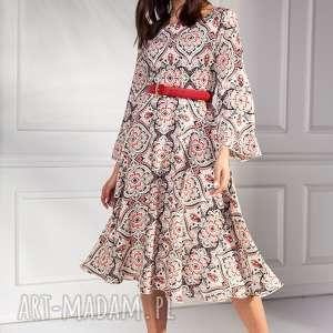 Sukienka marina sukienki pawel kuzik moda, midi