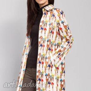 oryginalny prezent, płaszcze płaszcz o prostym kroju, płaszcze, damskie