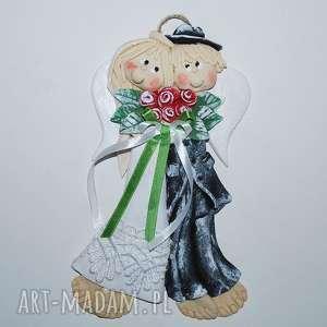 ślub chlebem i solą was witamy anioły ślubne, anioły, dekoracja, prezent