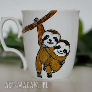 kubek artystyczny leniwiec - dla tych, którzy cenią swój czas
