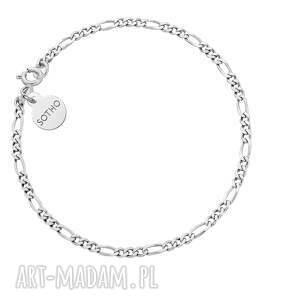 sotho srebrna łańcuszkowa bransoletka - srebro925, elegancka