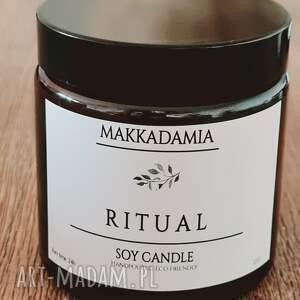 świeczniki świeca sojowa ritual, sojowa, zapachowa, zapach, soy