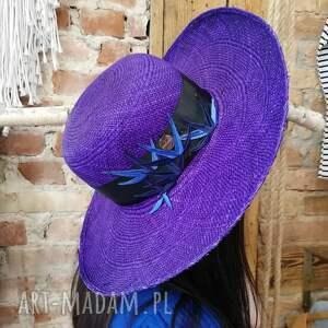 oryginalny prezent, fascynatory poyal panama, niebieski, kapelusz