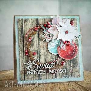 handmade na święta prezent kartka świąteczna mp -4