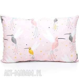 handmade dla dziecka poduszka podusia 40 x 60 jasiek kolibry / szałwia