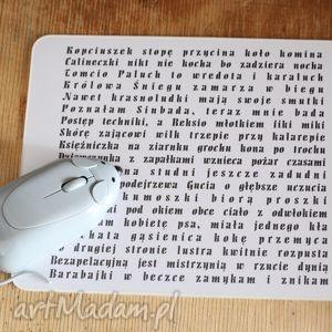 pod choinkę prezent, podkładki mysz a-kysz, komputer