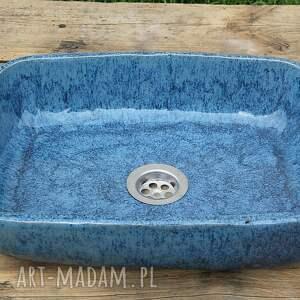 ceramika duża umywalka nablatowa, ceramiczna umywalka, polska ceramika