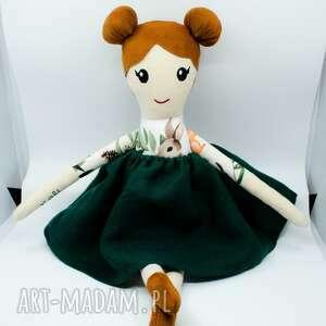 ręcznie zrobione lalki lalka z imieniem, szmaciana przytulanka szyta, dla niemowląt