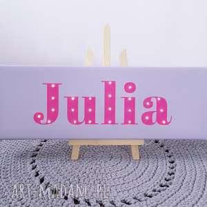 NAPIS LED Twoje Imię prezent obraz personalizowany z okazji urodzin, imię, napis, led