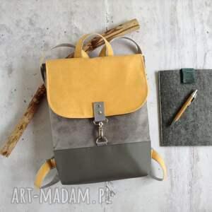 handmade słoneczny plecak