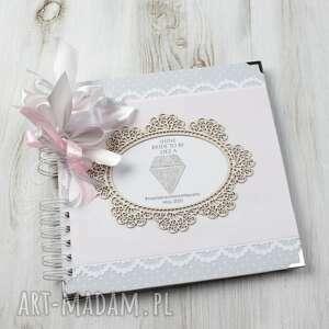 handmade scrapbooking kartki album na wieczór panieński w stylu glamour z kryształkiem