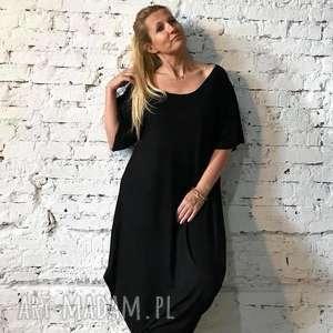 black moon-sukienka, maxi sukienka, plus size, luzna boho etno