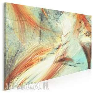 obraz na płótnie - ryba ogon abstrakcja 120x80 cm 70001, ogon