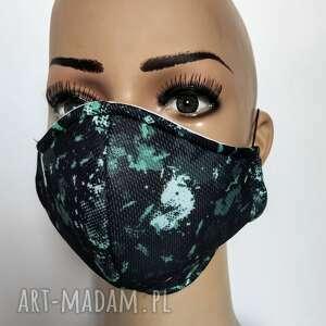 maska,maseczka ochronna z filtrem f7, kolorowa, moro, drukowana