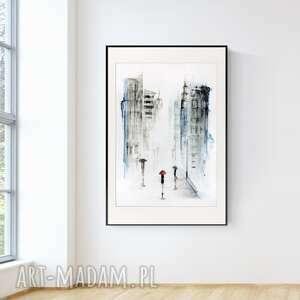 plakaty obraz ręcznie malowany 70 x 100 cm, nowoczesna abstrakcja, 2833215