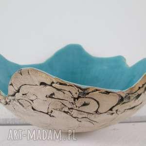 handmade ceramika sardynia artystyczna misa na owoce