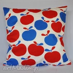 Prezent Poduszka w jabłka piękna ozdoba prezent !!, poduszka, jabłka, prezent, pokój