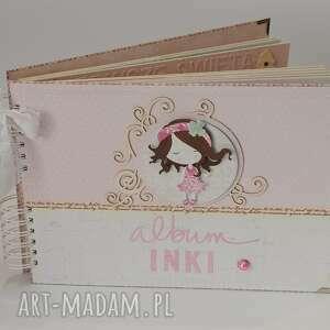 handmade scrapbooking albumy album dla dziewczynki