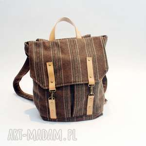 ręcznie wykonane plecak