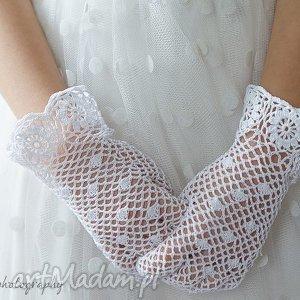 handmade dla dziecka rękawiczki komunijne