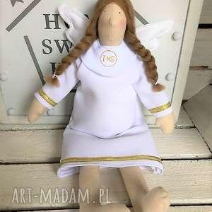 Anioł Pamiątka Komunii Świętej Dziewczynki, anioł, pamiątka, komunii, świetej, tilda,